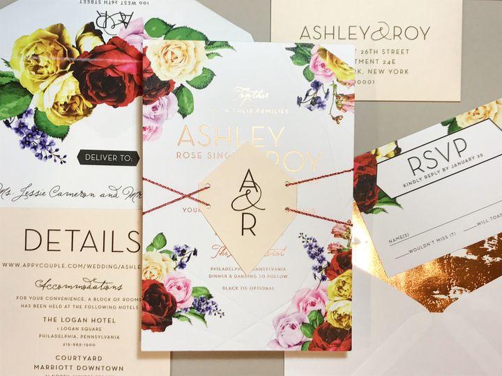 Tmx 1508782080601 Img4099 Philadelphia, Pennsylvania wedding invitation