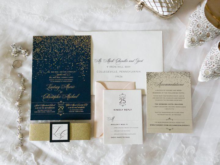Tmx 1508782349068 511a0036 Philadelphia, Pennsylvania wedding invitation