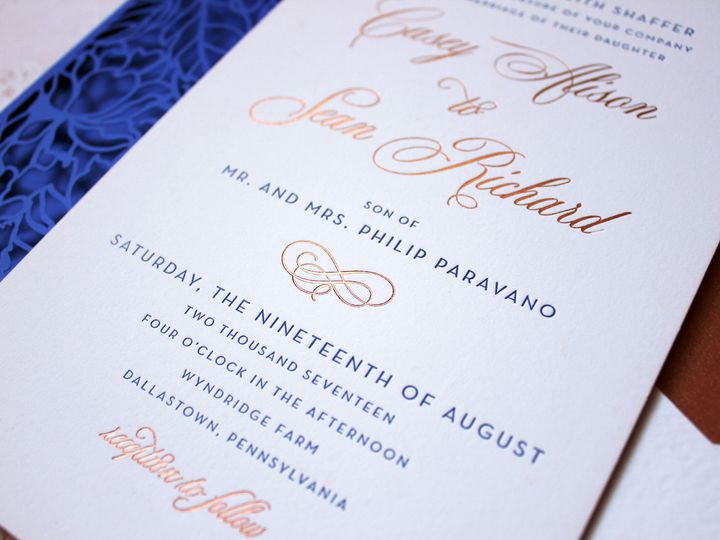 Tmx 1515701215 350f5c58ddc6125f 1515701195 6b0c310e3950f78d 1515701191860 10 IMG 5643 Philadelphia, Pennsylvania wedding invitation