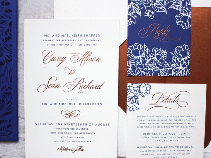 Tmx 1515701216 F29974ed99e96e44 1515701211 B4da6cba88134172 1515701208333 11 IMG 5690new Philadelphia, Pennsylvania wedding invitation