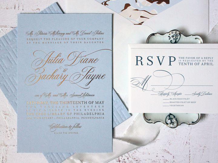 Tmx 1515701240 0721142fb78a6a1d 1515701238 679aa30c1252fd21 1515701235097 12 IMG 5559new Philadelphia, Pennsylvania wedding invitation