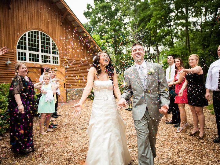 Tmx 1477971413925 Catlin And Aaron Barn Confetti 759 Huntersville, NC wedding dj
