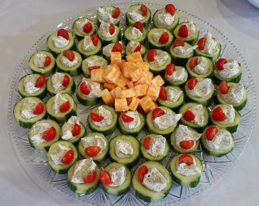 Cucumber appetizer