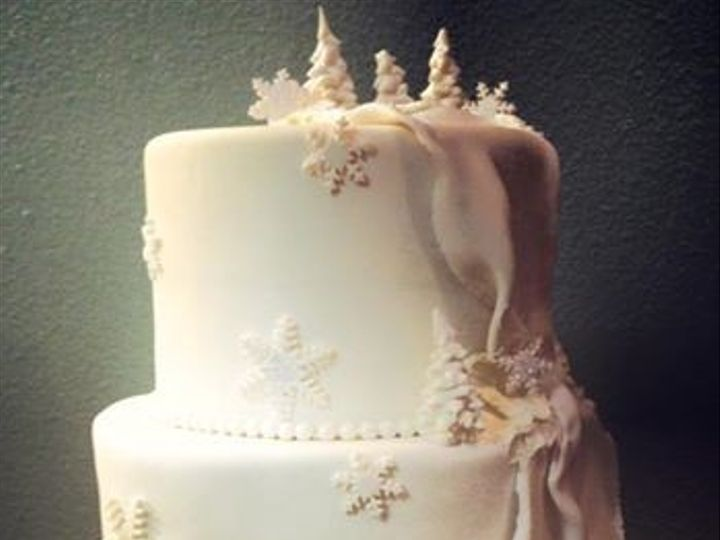 Tmx 1389519047764 Winter White Cake  Anchorage wedding