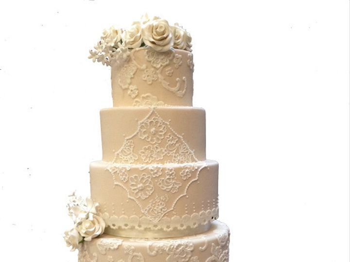 Tmx 1458047429766 Lace Wedding Cake  Anchorage wedding