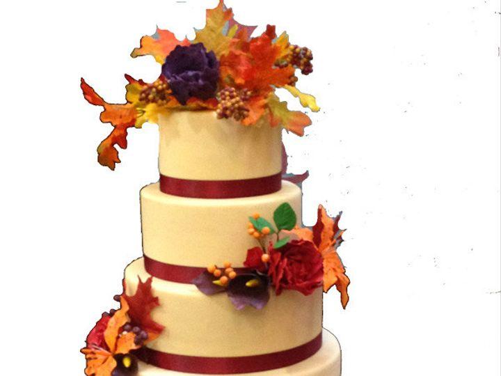 Tmx 1458047438186 Fall Wedding Cake Anchorage wedding