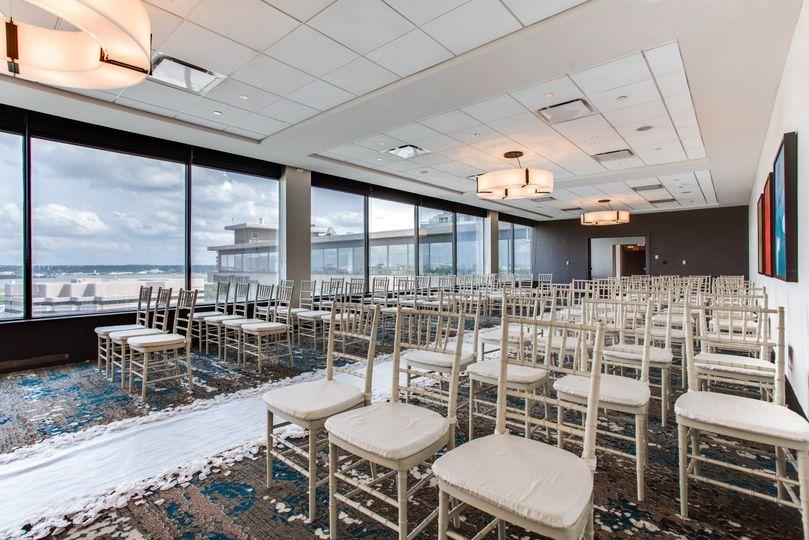 Ceremony with Potomac Views
