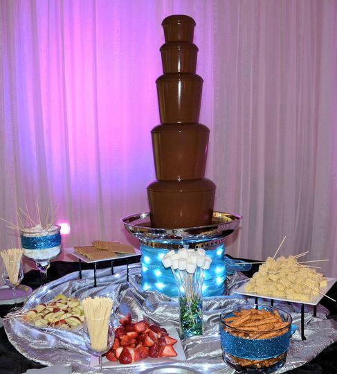 Austin Chocolate Occasions Chocolate Fountain Cupcake