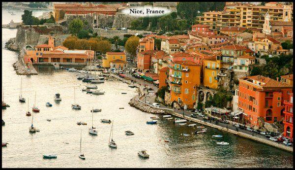 Ville Franche sur mer, near Nice, France