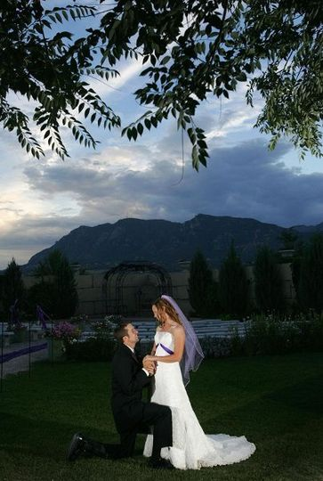 Colorado Springs, Colorado wedding.