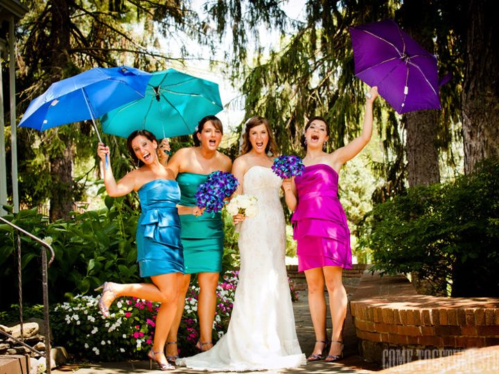 Tmx 1387298316159 Colorful Umbrella Bridesmaid Washingtonville, NY wedding venue