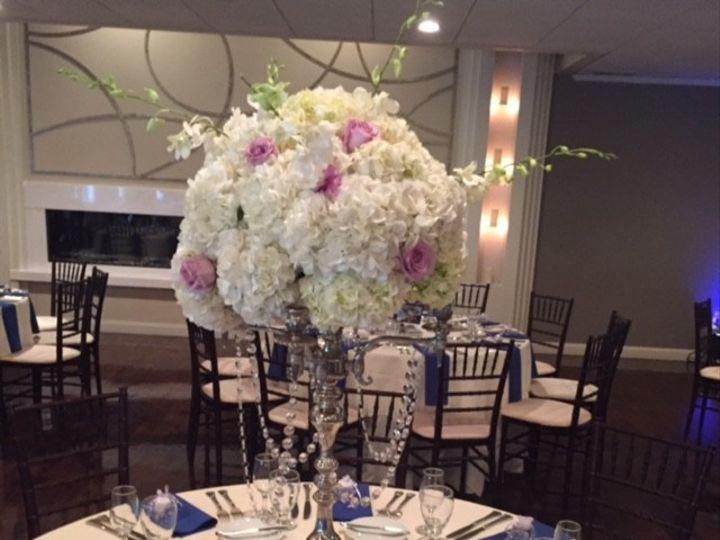 Tmx 1458023475184 Hydrandea Candelabra Plymouth, Massachusetts wedding florist