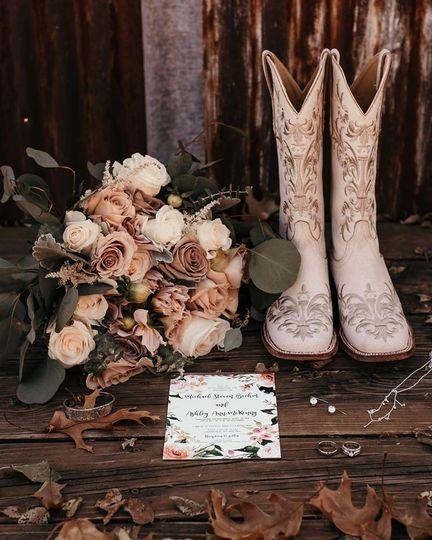 Wedding ranch chic