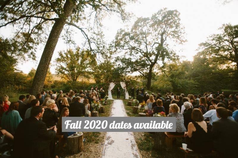 Fall 2020 wedding