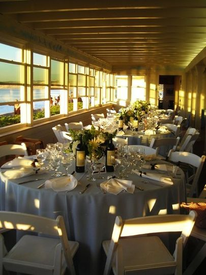 La Jolla Bridge Club La Jolla, CA Indoor Reception - Outdoor Ceremony Amazing Ocean Views!!