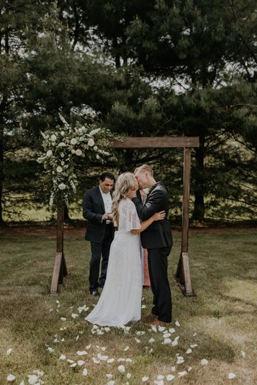 Backyard Spring Wedding