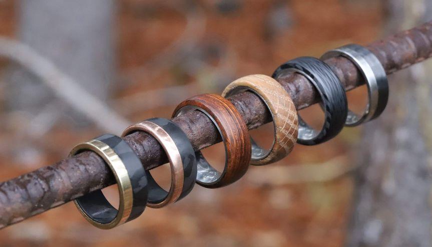 Wood/gold/titanium/carbon