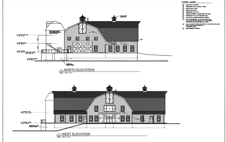 Blueprints for our new barn!