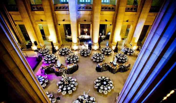 A Taste of Excellence Catering at Grand City Hall Rotunda