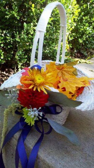 Fallflowergirlbasket