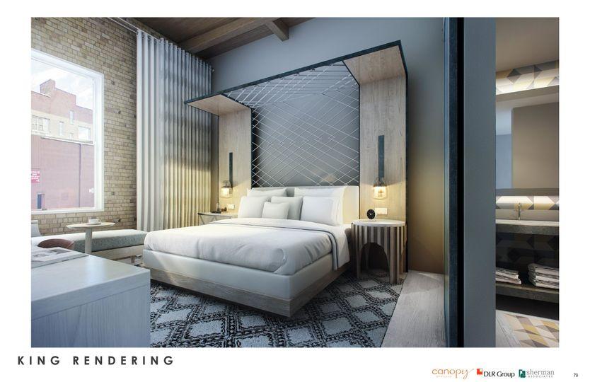 King room rendering