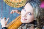 Harpist Krista Strader image