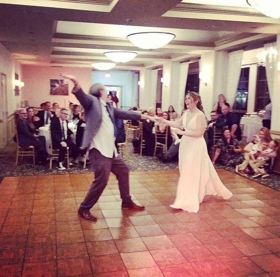 Stu and Mandy's first dance!