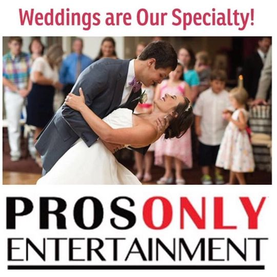 ProsOnly Entertainment - DJ's & Photobooths