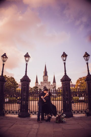 Elopement in New Orleans
