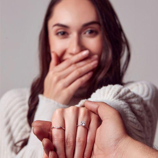 Elsa Solitaire ring