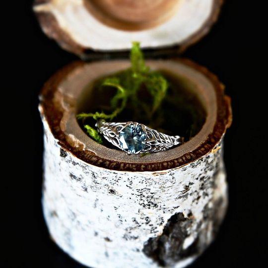 Montana Sapphire Custom Ring