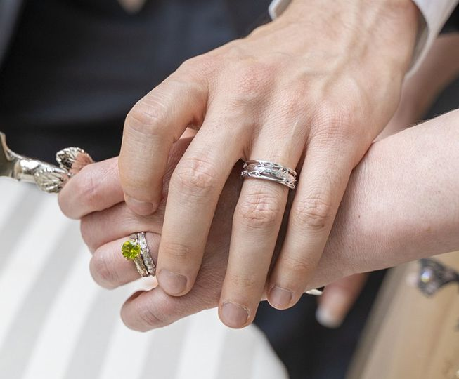 Nature Inspired Wedding Set