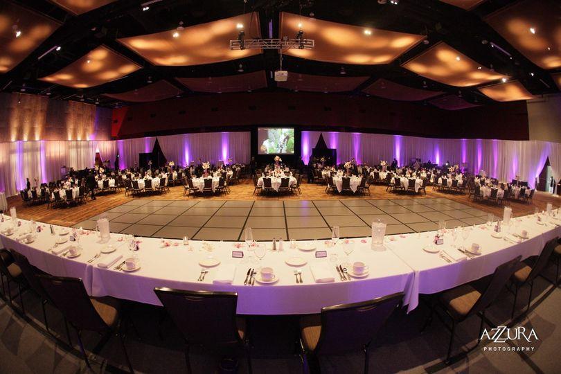 Center Hall set & ready!