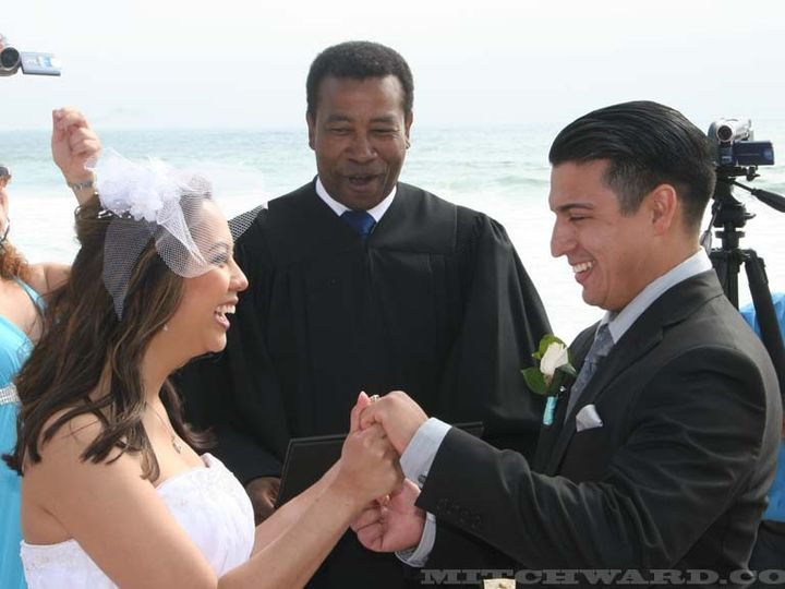 Tmx 1372787897521 Mitchward652010weddingjuanoceanwedding Manhattan Beach wedding officiant