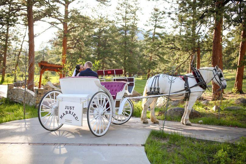 outdoor wedding ceremony denver 1