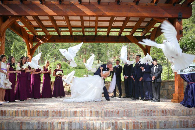 outdoor wedding ceremony denver 8