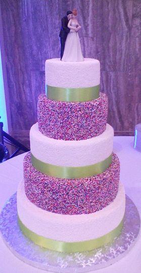 Sprinkle cake