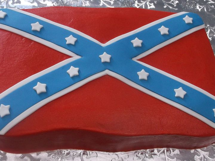 Tmx 1373671741788 Confederate Flag Fort Worth wedding cake