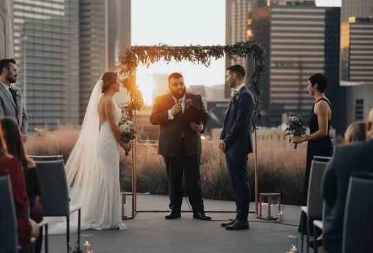Tmx Rooftop Russell Ceremony 51 1976763 160813682372716 Dallas, TX wedding venue