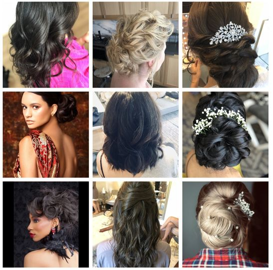 Hair style details