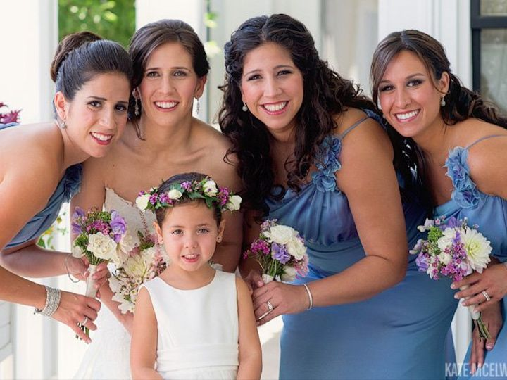 Tmx 1363627071239 19bridebridesmaidswentworthbytheseawedding Berwick wedding beauty