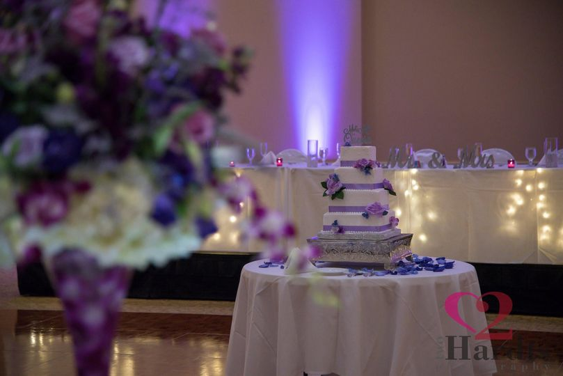 Wedding purple theme