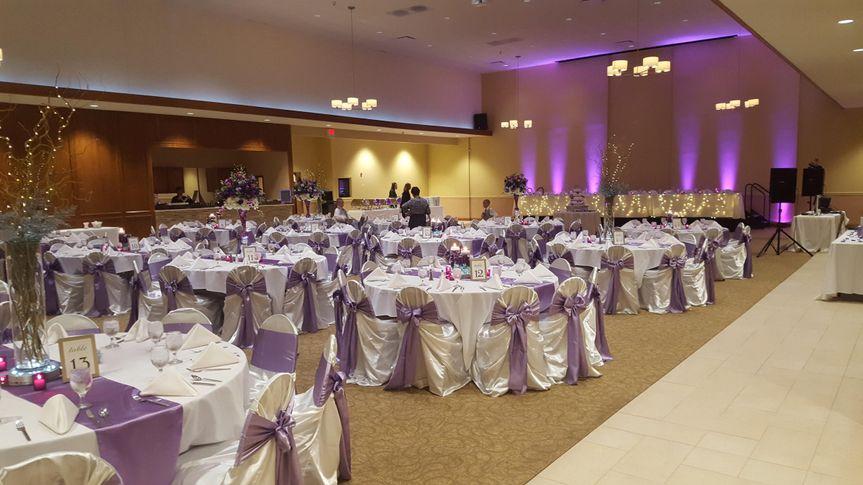 table decor reception