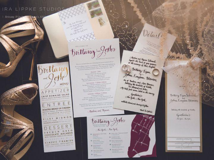 Tmx 1446498805693 Sukiennik Burnsville, MN wedding invitation