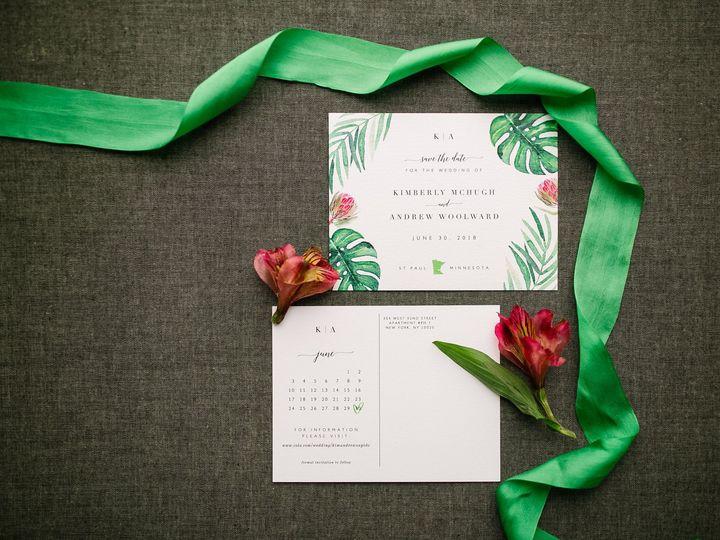Tmx 1514559467359 Elpmilestonepaperdec2017039 X3 Burnsville, MN wedding invitation