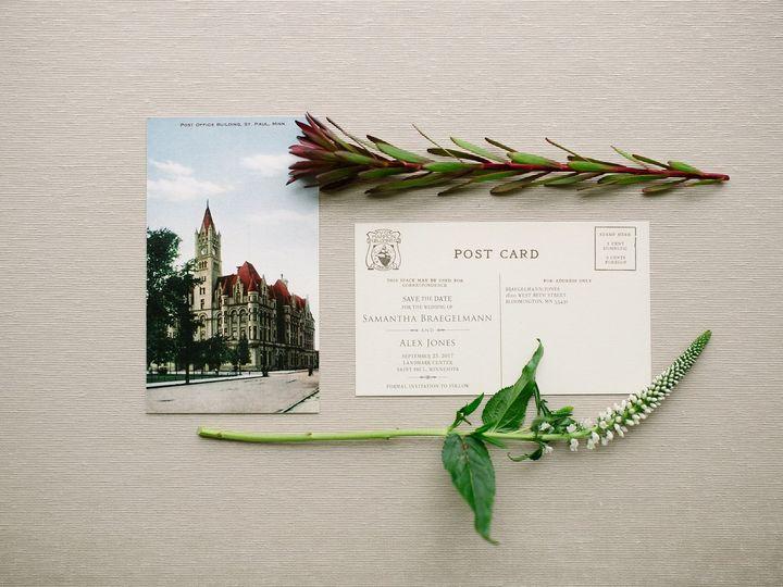 Tmx 1514559819741 Elpmilestonepaperdec2017033 X3 Burnsville, MN wedding invitation