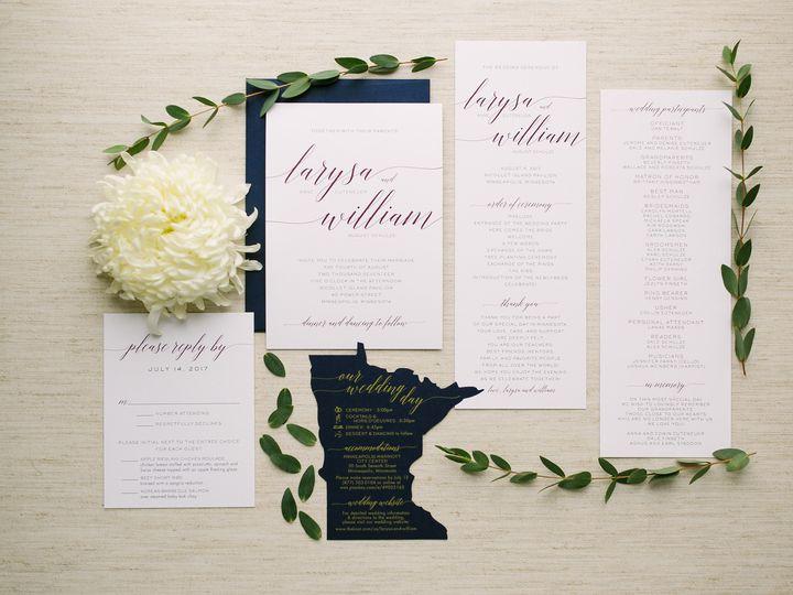 Tmx 1514561679150 Elpmilestonepaperdec2017017 X3 Burnsville, MN wedding invitation