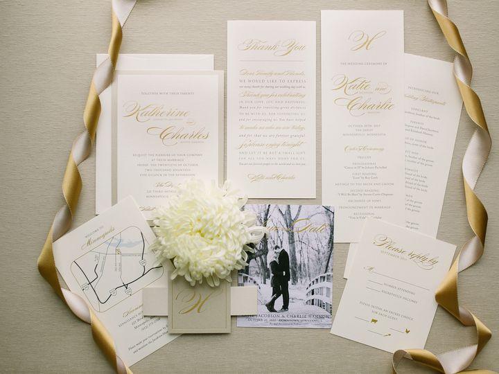 Tmx 1514561683829 Elpmilestonepaperdec2017016 X3 Burnsville, MN wedding invitation