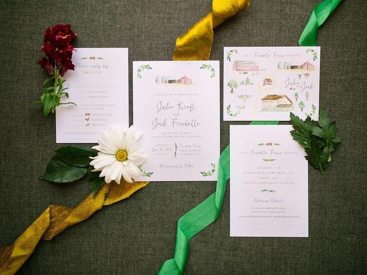 Tmx 1531840818 22fa004811b77ff1 1531840817 6a6fe6087bc4254f 1531840804490 8 ELP Milestone May  Burnsville, MN wedding invitation