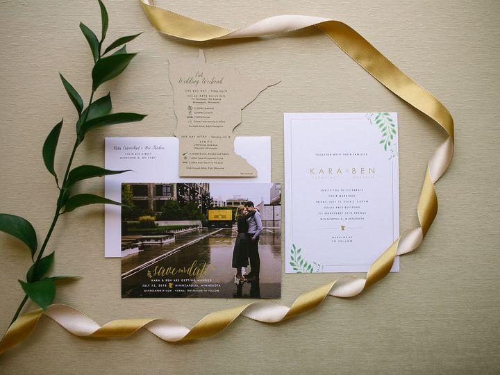 Tmx 1531840818 333dee0aef5000ea 1531840817 4730551d9e4f1c21 1531840804490 7 ELP Milestone May  Burnsville, MN wedding invitation